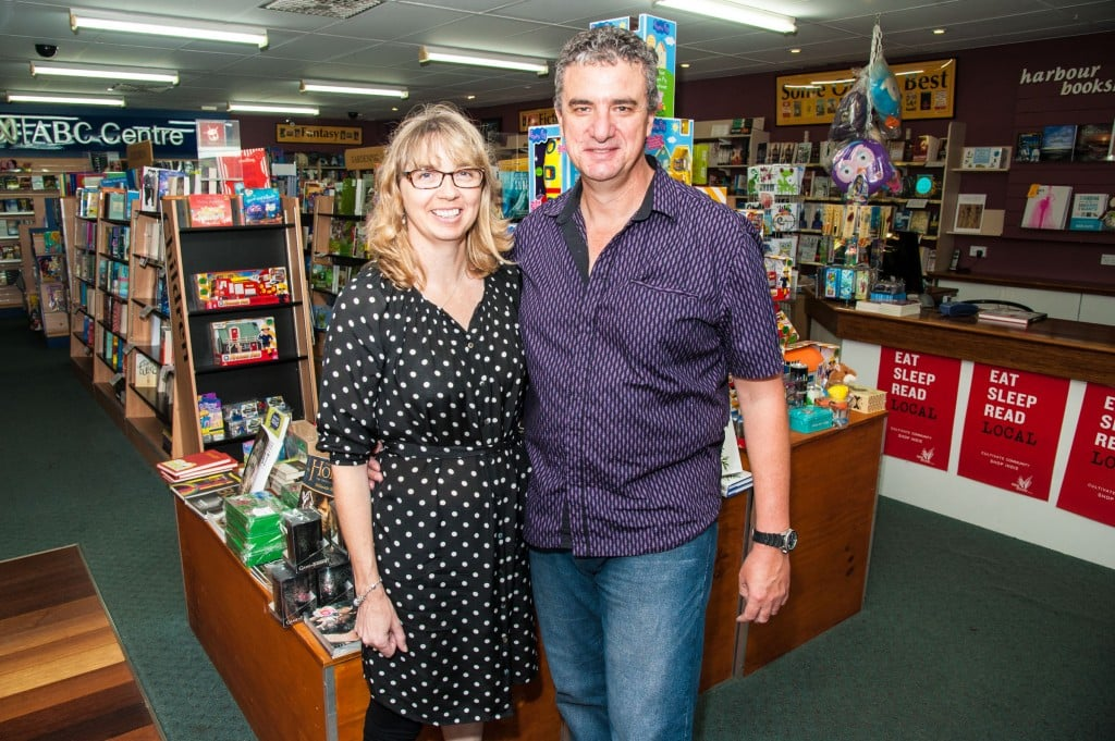 Gary & Michelle Evans, Harbour Bookshop & Publishing