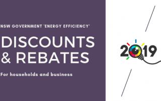 Energy rebates 2019 image