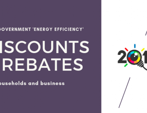 2019 Energy Discounts & Rebates.