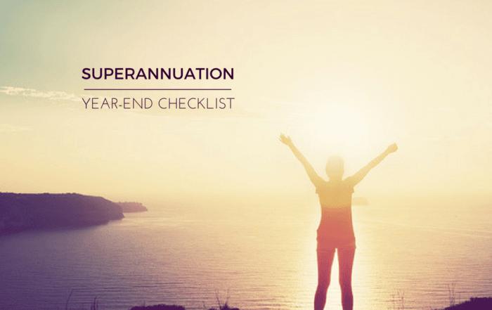 superannuation checklist
