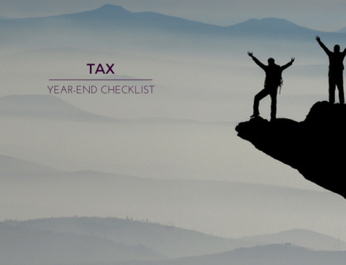 Tax year-end checklist