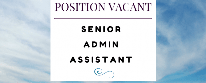 position-vacant-senior-admin-assistant