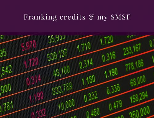 How do franking credits benefit SMSFs?