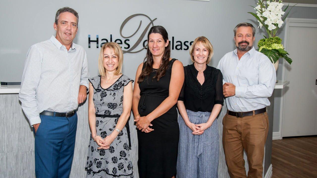 Hales Douglass Financial Services team