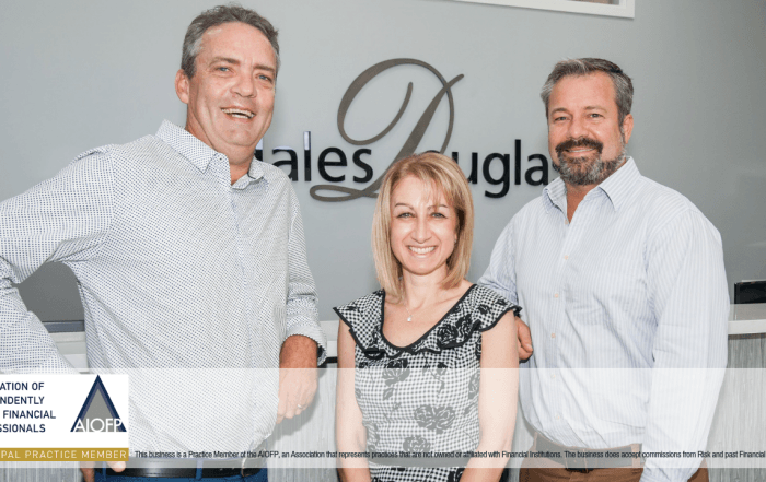 Hales Douglass Financial Services have their own licence