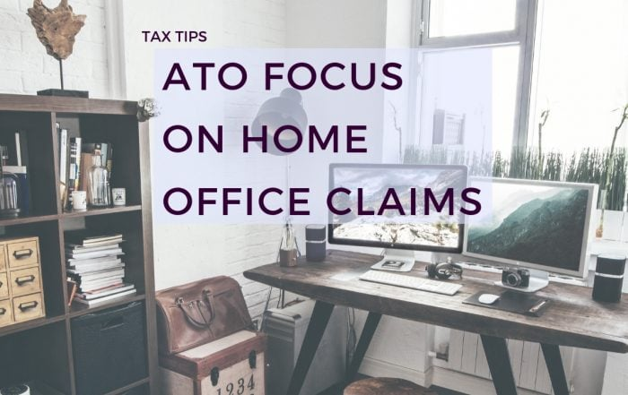 ATO focus on home office claims