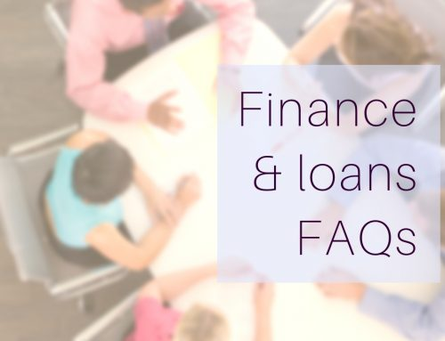 FAQs – business loans, equipment finance, investment & home loans