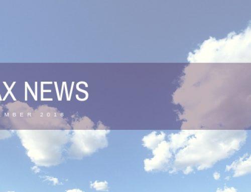 November tax news