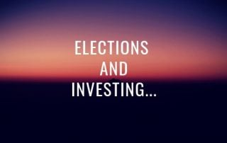 elections and investing image