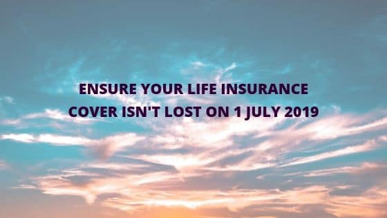life insurance changes