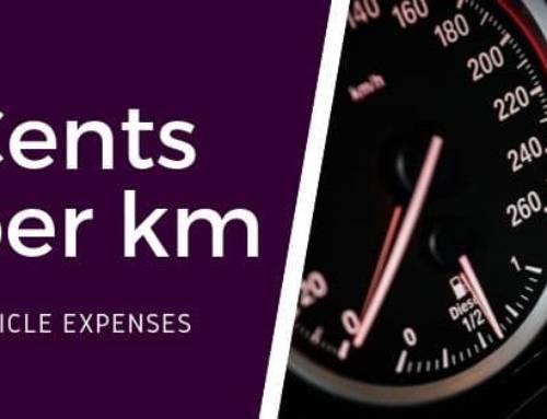 Cents per kilometre method