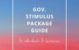Gov stimulus guide