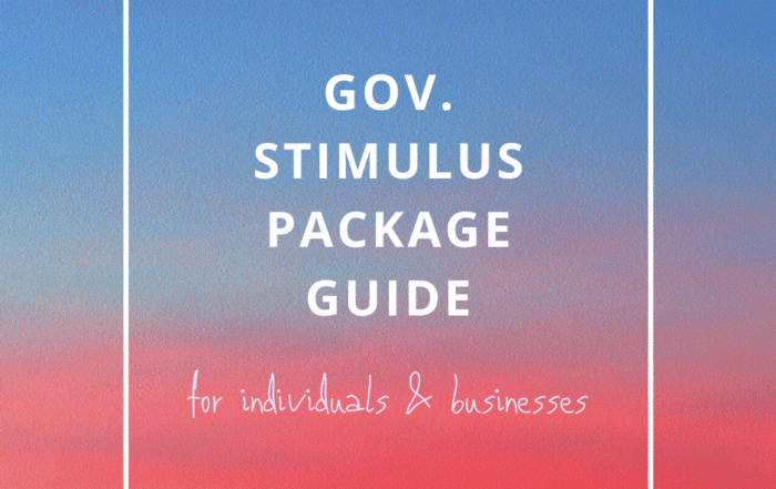 Gov stimulus guide