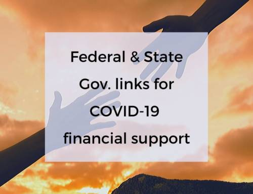 Federal & State Gov Financial Support for COVID-19