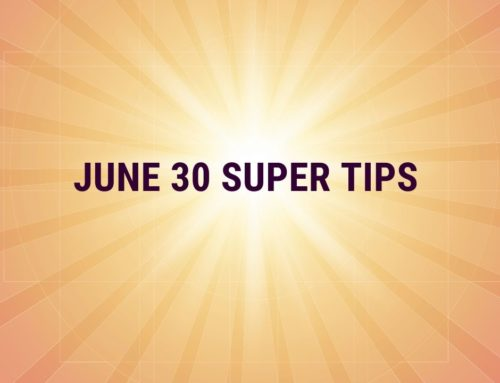 June 30 Superannuation Tips 2020