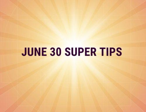 June 30 Superannuation Tips 2020