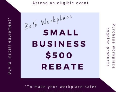 $500 Small Business 'Safe Workplace' Rebate