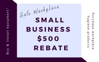 Safe workplace rebate image