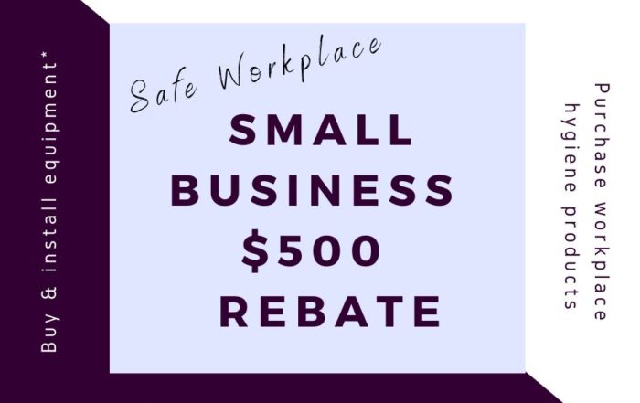 Safe workplace rebate image