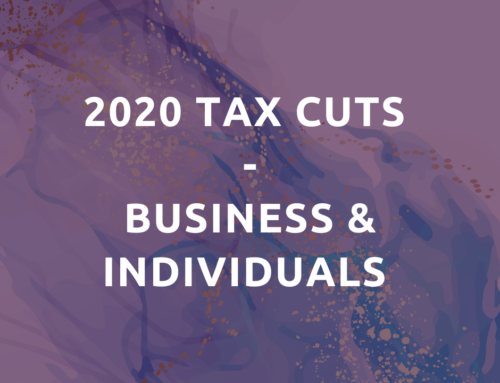 2020 tax cuts – business & individuals