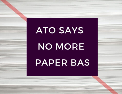 ATO says no more paper BAS