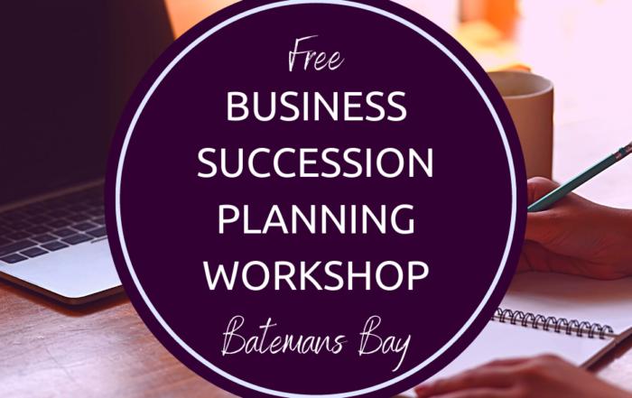 Succession planning workshop