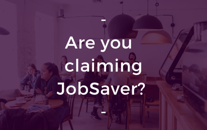 JobSaver eligiblity changed